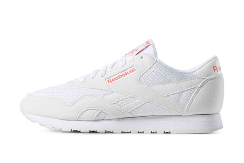 white/blue/red / US 6 reebok cl nylon TXT reebok 4061617958647 Shoe