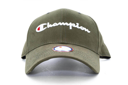 hiker green champion classic twill hat champion cap