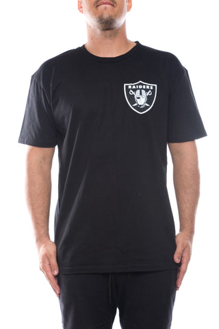 majestic oakland raiders finter tee