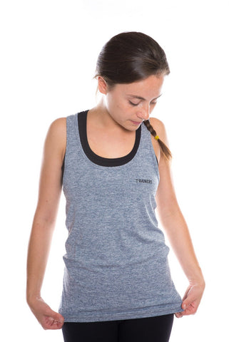 trainers womens racerback tank