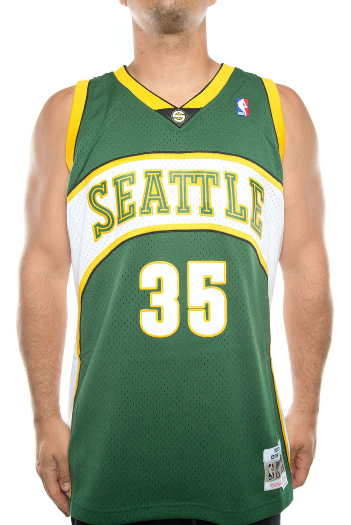 mitchell and ness seattle sonics durant hwc swingman jersey