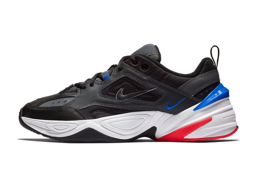 dark gray/black/baroque brown/racer blue / US 9 nike m2k tekno nike 887231646722 Shoe