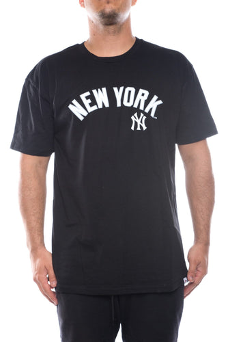 black / M majestic NY yankees jorga tee majestic Shirt