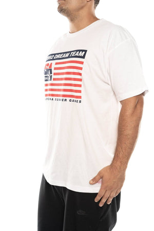 mitchell and ness 1992 team usa flag tee mitchell and ness Shirt