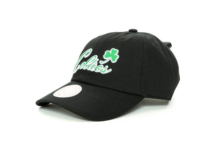 BLACK mitchell and ness boston celtics buzzer dad hat mitchell and ness cap
