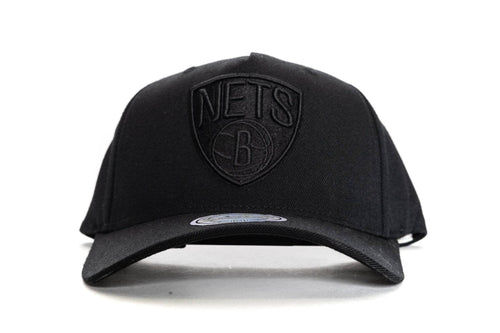 ALL BLACK mitchell and ness brooklyn nets 110 snapback mitchell and ness cap