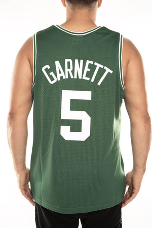 mitchell and ness celtics garnett 5 road 07-08 swingman jersey mitchell and ness jersey