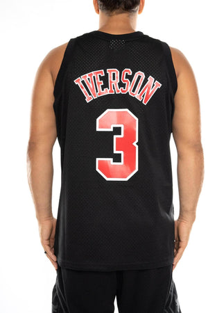 mitchell and ness iverson 76ers 96-97 swingman jersey mitchell and ness tank
