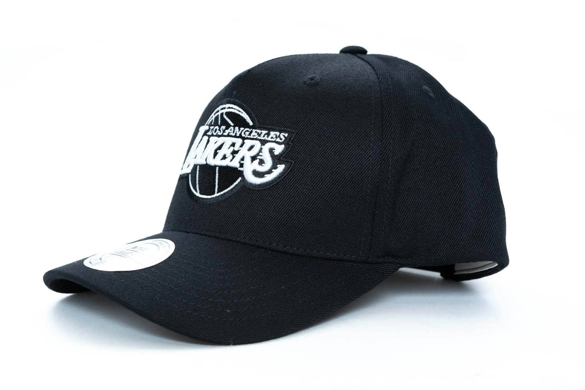 low priced b027c f3987 mitchell and ness los angeles lakers logo 110 snapback   TRAINERS – trainers