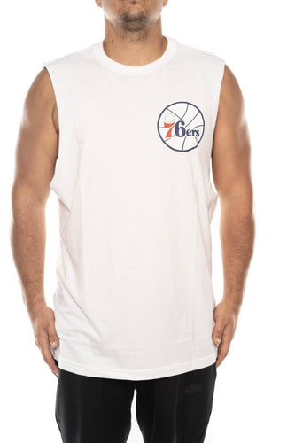 mitchell and ness philadelphia 76ers old english muscle mitchell and ness tank