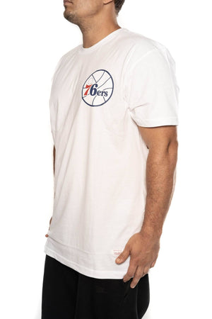 mitchell and ness philadelphia 76ers old english tee mitchell and ness Shirt