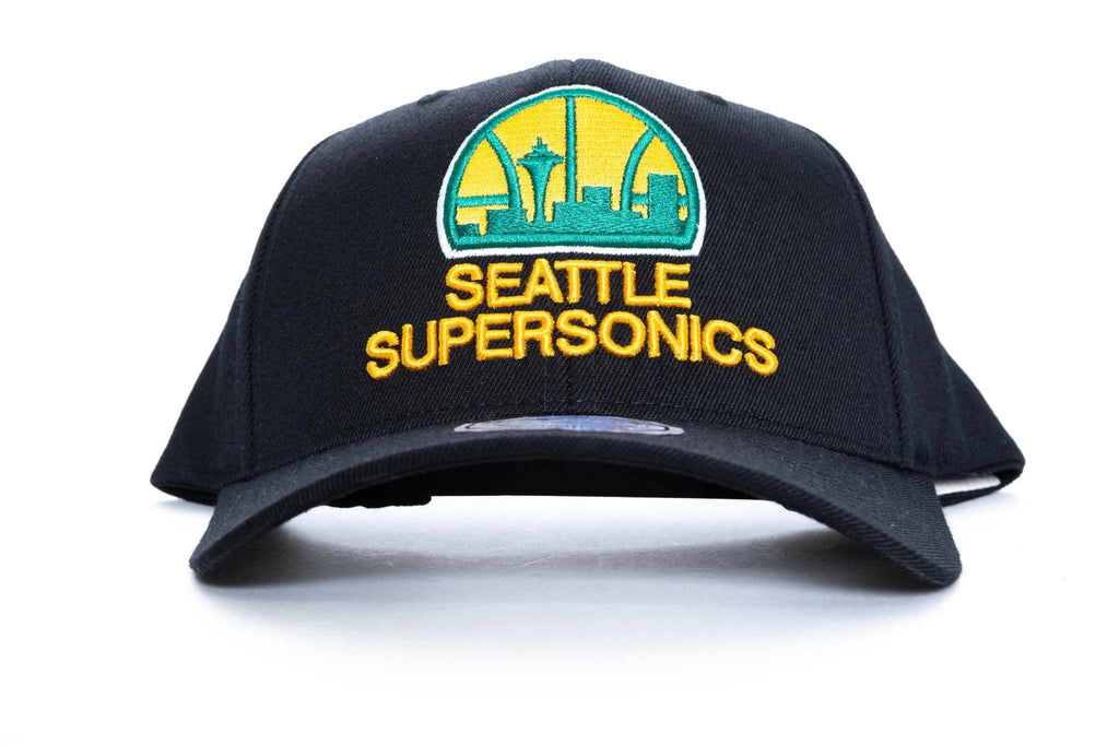 mitchell and ness seattle supersonics vintage HWC 110 snapback