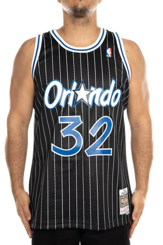 Black / M mitchell and ness shaq 32 94-95 swingman jersey mitchell and ness tank