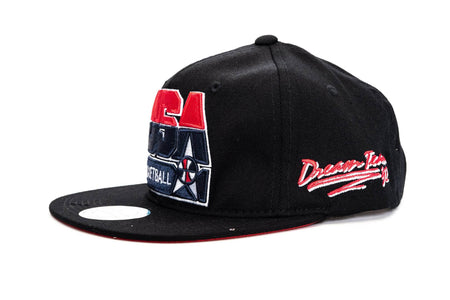 Black / OS mitchell and ness team usa 92 basketball snapback mitchell & ness cap