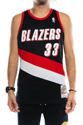 mitchell and ness trailblazers pippen 99-00 swingman jersey mitchell and ness tank