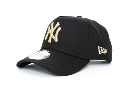 black/gold new era 940 Aframe new york yankees new era cap