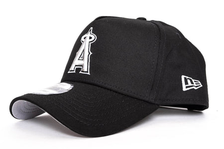black/grey new era 940 aframe anahiem angels new era cap