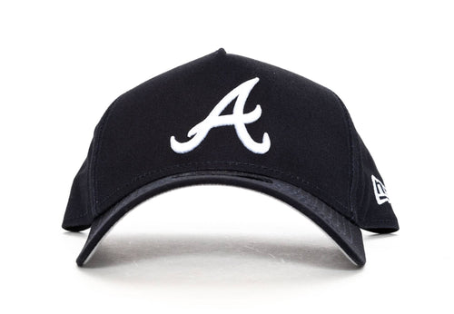 navy new era 940 aframe atlanta braves new era cap