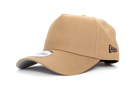 KHAKI new era 940 aframe blank new era cap