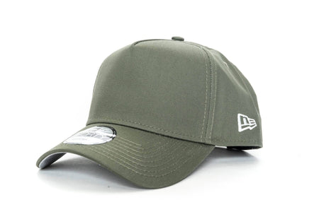 olive new era 940 aframe blank new era cap