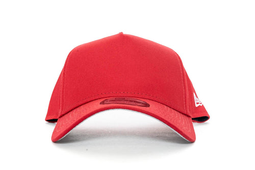 scarlet new era 940 aframe blank new era cap