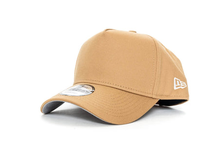 wheat new era 940 aframe blank new era cap
