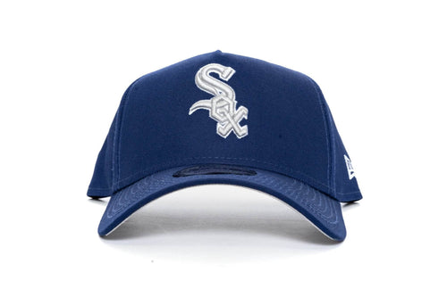 ROYAL BLUE/SILVER new era 940 aframe chicago white sox new era cap
