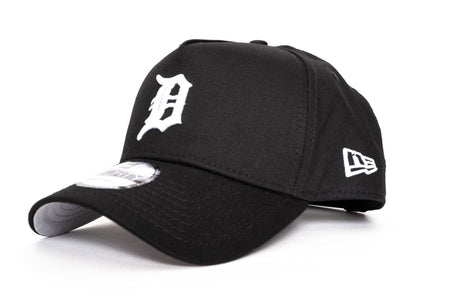 black/grey new era 940 aframe detroit tigers new era cap