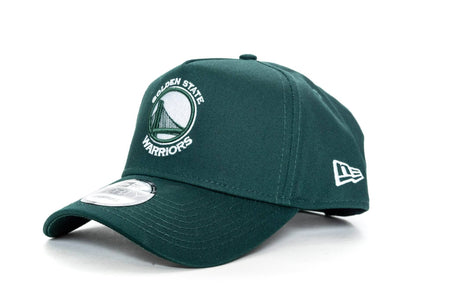 dark green new era 940 aframe golden state warriors new era cap
