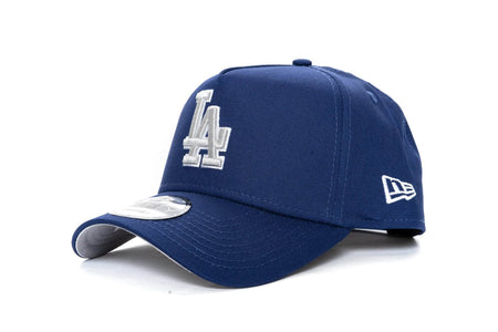 ROYAL BLUE/SILVER new era 940 aframe los angeles dodgers new era cap