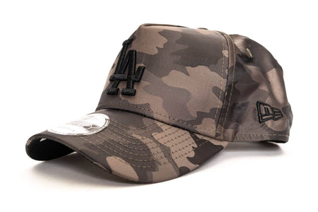 Satin Olive / Camo new era 940 aframe los angeles dodgers satin new era cap