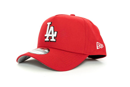 scarlet/black new era 940 aframe los angeles dodgers new era cap
