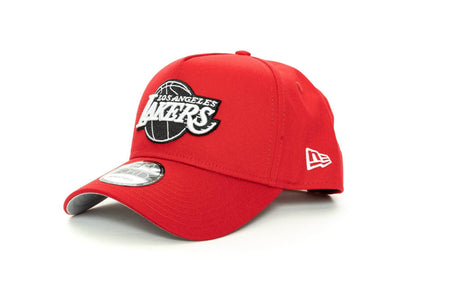 scarlet/black new era 940 aframe los angeles lakers new era cap