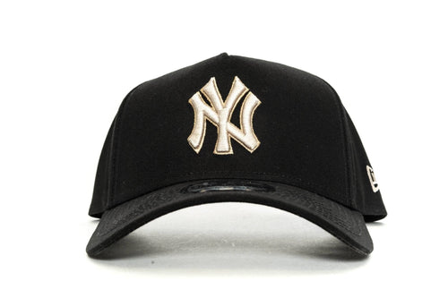 BLACK/SW/POP new era 940 aframe new york yankees new era cap