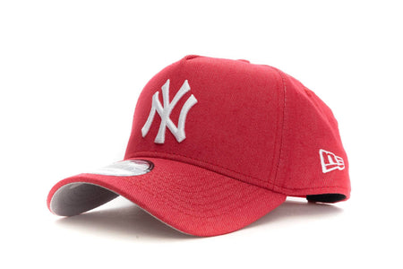 Denim/Red new era 940 aframe new york yankees new era cap