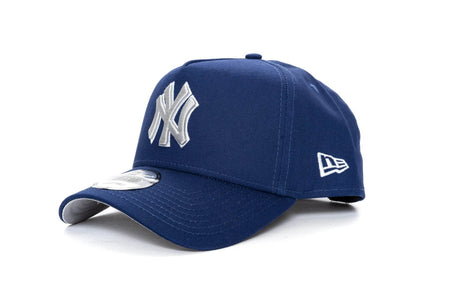 ROYAL BLUE/SILVER new era 940 aframe new york yankees new era cap