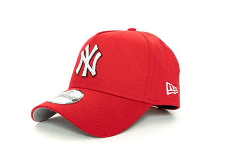 scarlet/black new era 940 aframe new york yankees new era cap