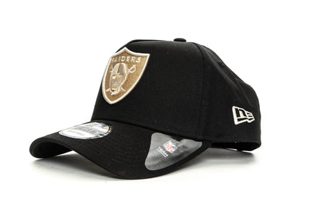 BLACK/SW/POP new era 940 aframe oakland raiders new era cap