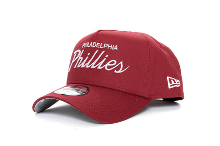 MAROON/WHITE new era 940 aframe philadelphia phillies new era cap
