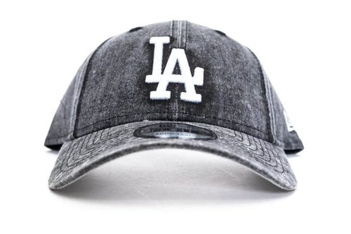 black / overdye new era 940 los angeles dodgers new era cap