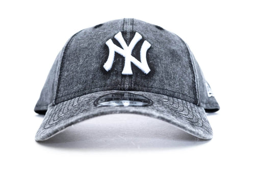 black / overdye new era 940 new york yankees new era cap
