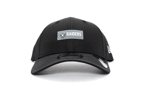 BLACK new era 940 oakland raiders patch pro new era cap