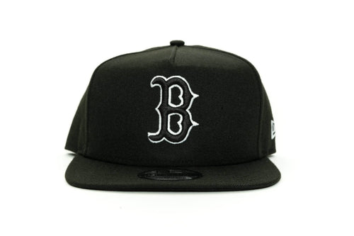 black/white new era 950 aframe boston red socks new era cap
