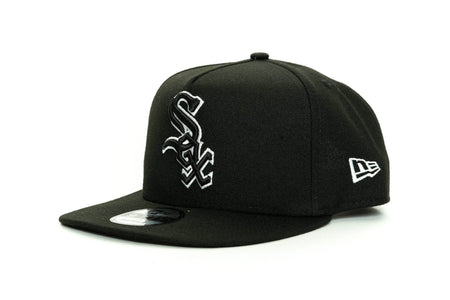black/white new era 950 aframe chicago white sox new era cap