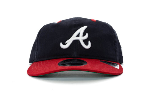 NAVY/RED/GREEN new era 950 retro crown atlanta braves new era cap