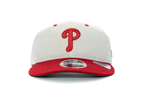 WHITE/RED/GREEN new era 950 retro crown philadelphia phillies new era cap
