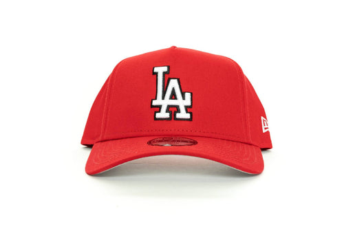 scarlet/black new era KIDS 940 aframe los angeles dodgers new era cap
