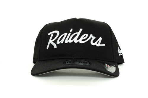 scarlet/black new era old golfer las vegas raiders new era cap