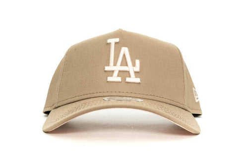 CARAMEL/APRICOT new era womens 940 aframe los angeles dodgers new era cap