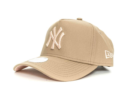 CARAMEL/APRICOT new era womens 940 aframe new york yankees new era cap